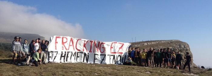 Fracking Ez Aiaraldeak salatu du hurrengo gas putzua eskualdean egin dezaketela