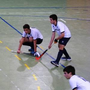 Euskal Hockey Txapelketaren hainbat partidu jokatu ziren larunbatean Laudion
