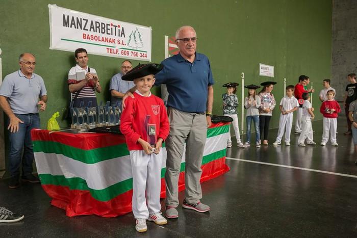 Herriko pilota txapelketa jokatu zuten asteburuan - 23