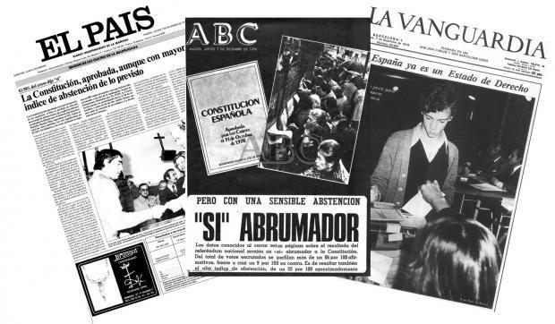 Aiaraldearren % 34,17ak baino ez zuen Espainiar Konstituzioaren alde bozkatu