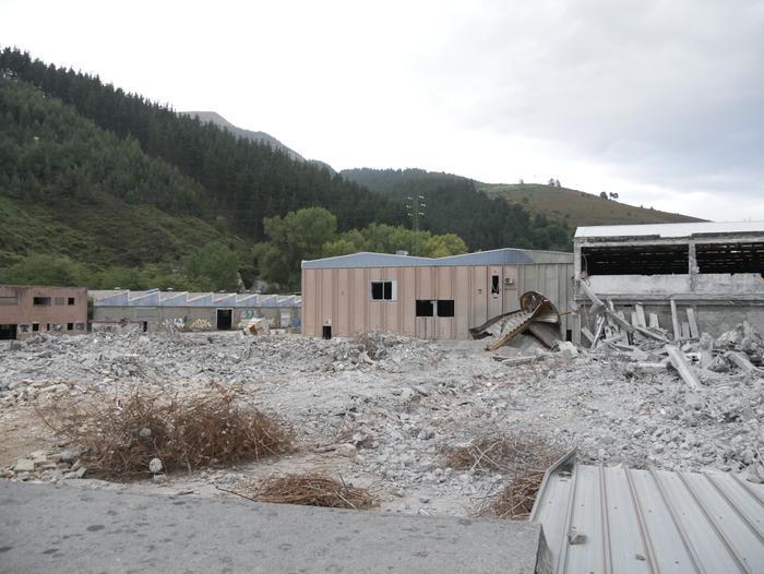 Nortenen lurzorua erosi du Construcciones Ekin enpresak, pabilioiak eraikitzeko