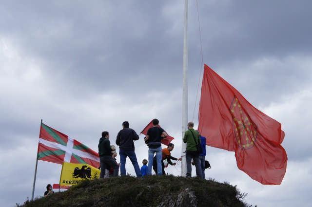 Nafarroako Erresumaren ikurra Arakaldon - 4