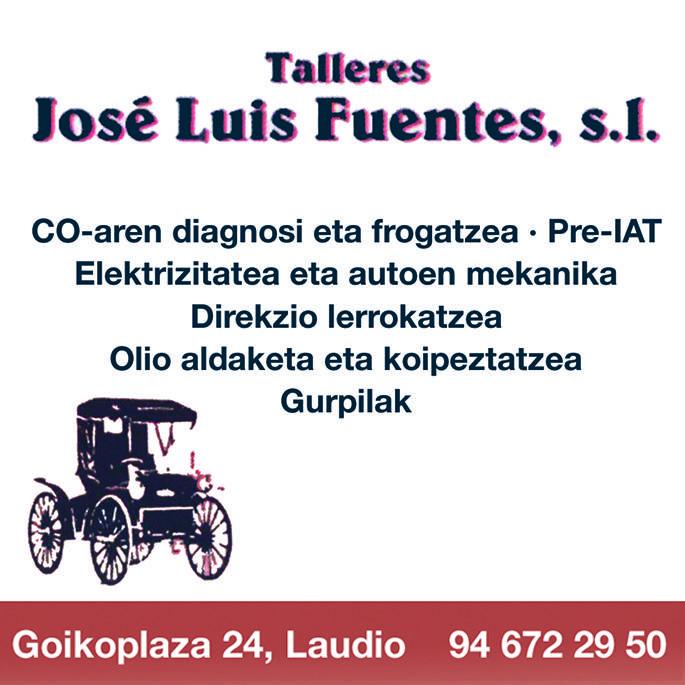 Taller Jose Luis Fuentes logotipoa