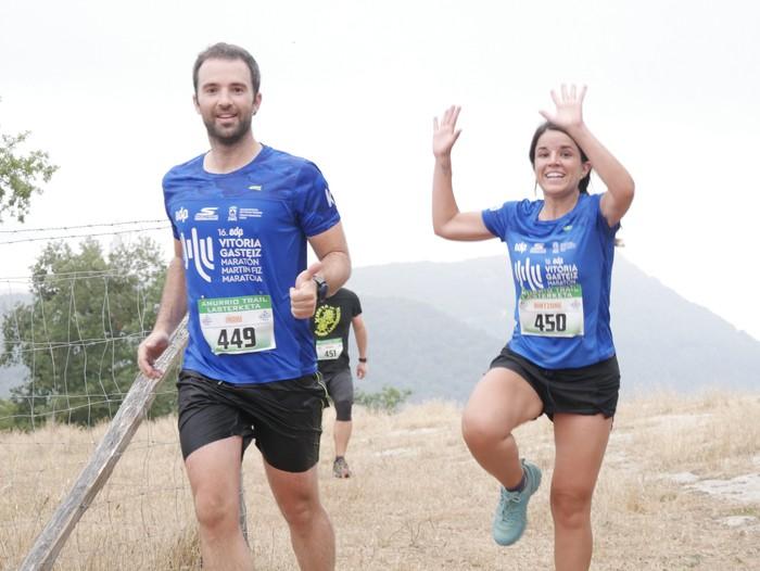 Beatriz Delgado eta Jon Vegas garaile Amurrio Trail Lasterketaren VIII. edizioan - 37