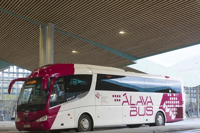 Ordutegi aldaketak hasi dira Gasteiz eta Laudio arteko autobusetan
