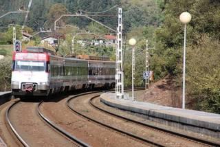 Tren zerbitzuari buruzko mozioak Amurrio eta Laudion