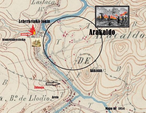 183 urte Espartero jeneralak Arakaldo erre zuenetik