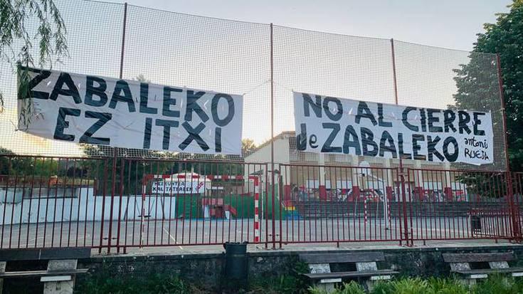 Zabaleko Ikastetxea zabalik mantenduko du Eusko Jaurlaritzak datorren ikasturtean, udalaren arabera