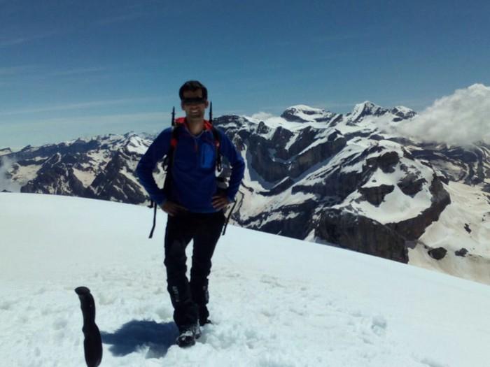 Bihar agurtuko dute Pico de Pinetan hildako Jon Urkijo mendizale gaztea
