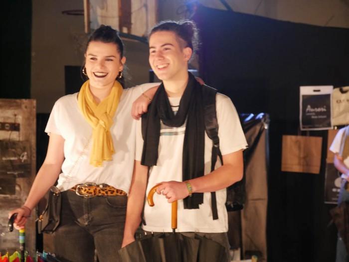 Ikasbidaia antolatzeko moda desfilea egin zuten ikastolan - 28