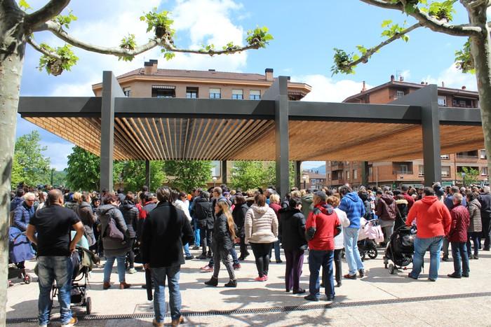 San Anton plazan egin dute umeek San Prudentzioko danborrada - 34
