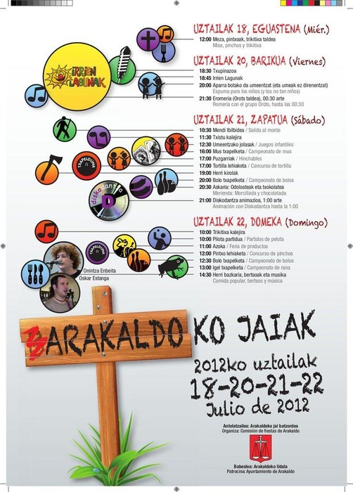Arakaldoko Jaiak hasi dira - 2
