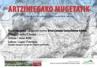 Artziniegako Mugetatik 2015