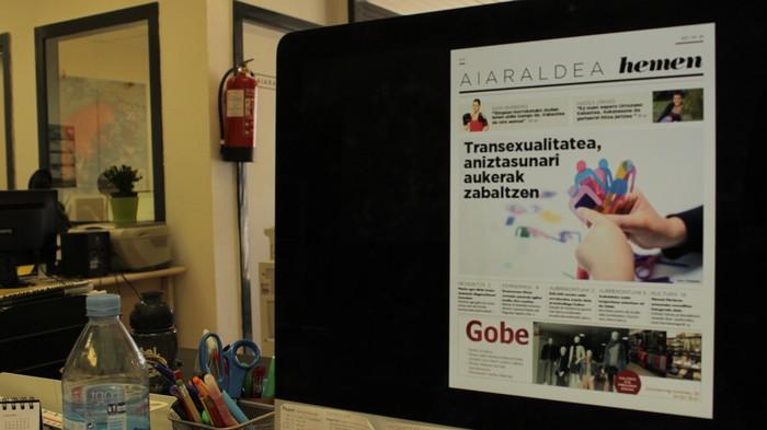 Transexualitateari buruzko lekukotzak jaso ditu Aiaraldea Hemen hamabostekariak