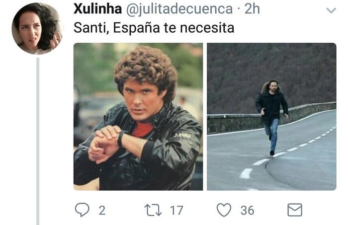 Birala bihurtu da Santiago Abascalek argitaratutako argazkia eta sare sozialetako erabiltzaile ugarik parodiatu dute - 8