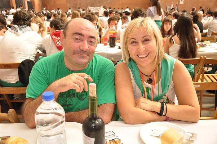 Laudioko Jaiak 2011: Kuadrillen Bazkaria 1 - 16