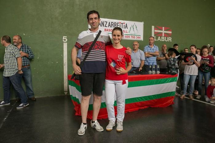 Herriko pilota txapelketa jokatu zuten asteburuan - 50
