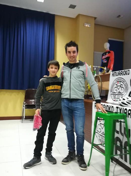 Igor Antonen solasaldia, Amurrioko Txirrindulari Elkartearen urtemugaren pizgarri - 24