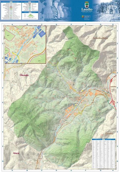 Eskualdeko hainbat herritako mapa toponimikoak eskura