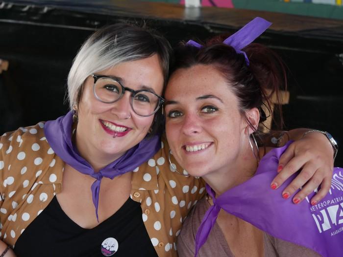 Saretzeko ekintzak eta espazioak uztartu zituen atzo Egun feministak - 20