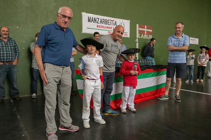 Herriko pilota txapelketa jokatu zuten asteburuan - 14