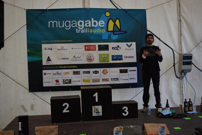 Eskualdeko hainbat lasterkari aritu ziren Mugagabe Trailean eta Iñaki Isasi izan zen lehena helmugara iristen - 129