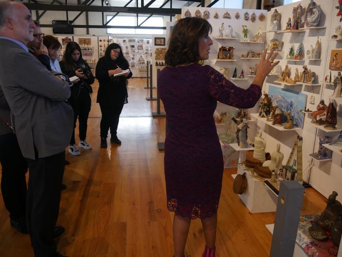 ONCE erakundearen omenezko lana jarri dute Santxotena Museoko Munduko Belenen Erakusketan - 46