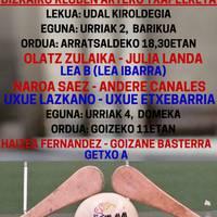 Nesken Gomazko Paleten Bizkaiko Kluben Arteko partidak