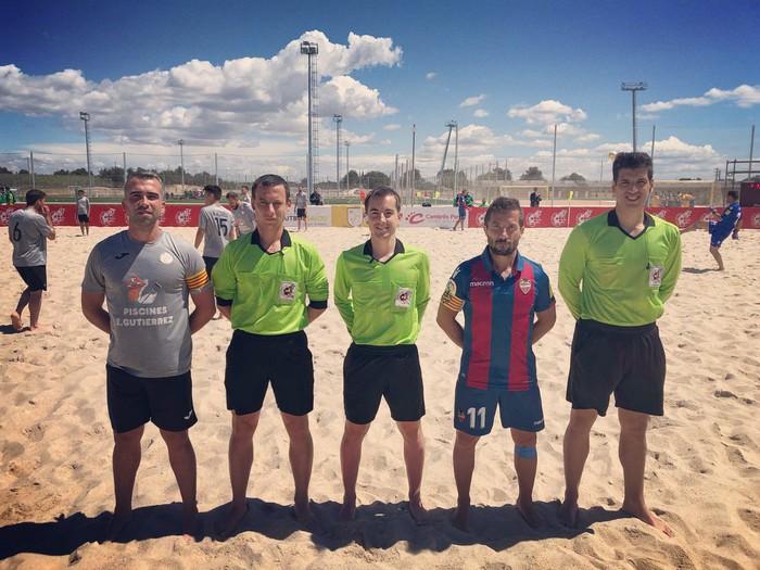 Gotzon Palacios Arrugaeta hondartza futbol epaile izendatu dute elitean aritzeko