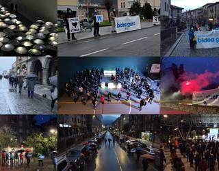 700 aiaraldear baino gehiago mobilizatu dira presoen eskubideen alde