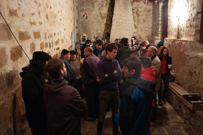 Antzinako ohitura jarraiki ospatu zuten San Anton jaia Baranbion - 13