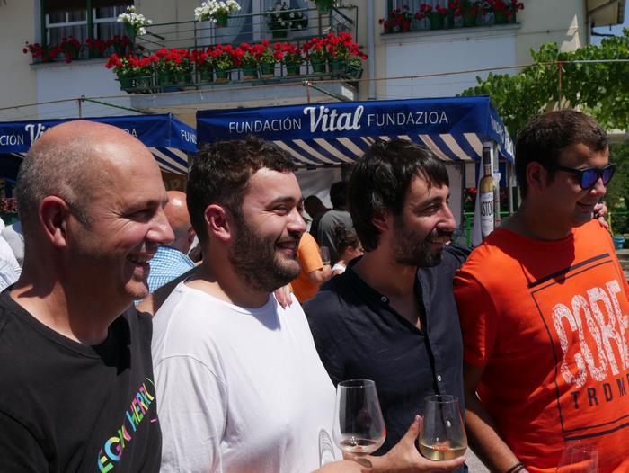 Diego Perez eta Bartolome Perales izan dira protagonistak Txakolin Jaian - 36