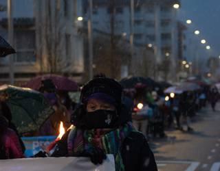 Presoen eskubideen alde Aiaraldean deitutako mobilizazio guztien irudiak, hemen ikusgai