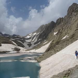 """""""Alta ruta de los Perdidos"""" trekkinga argazkitan"""