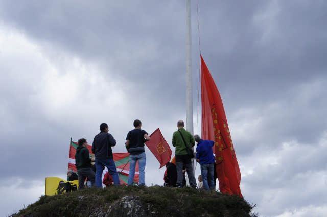 Nafarroako Erresumaren ikurra Arakaldon - 3