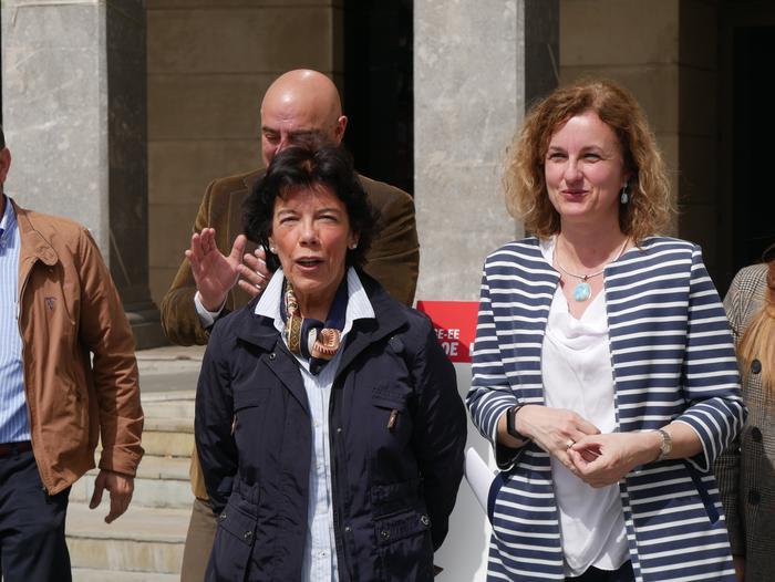 Isabel Celaák ziurtatu du egun gutxi barru konponduko dutela behin betiko Nerbioiko saneamenduaren arazoa - 5