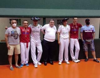 Aitor Sanchezek eta Asier Larrinagak irabazi dute Arabako trinkete txapelketa