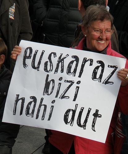 """""""Amurrion euskaraz bizi nahi dut"""" eguna izango da bihar"""