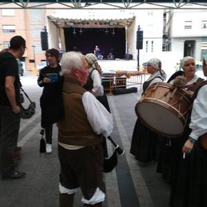 Galiziar Etxeen plaza izan da Laudio asteburuan