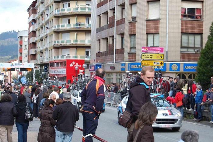 Euskal Herriko Itzuliak Aiaraldea zeharkatu du - 2