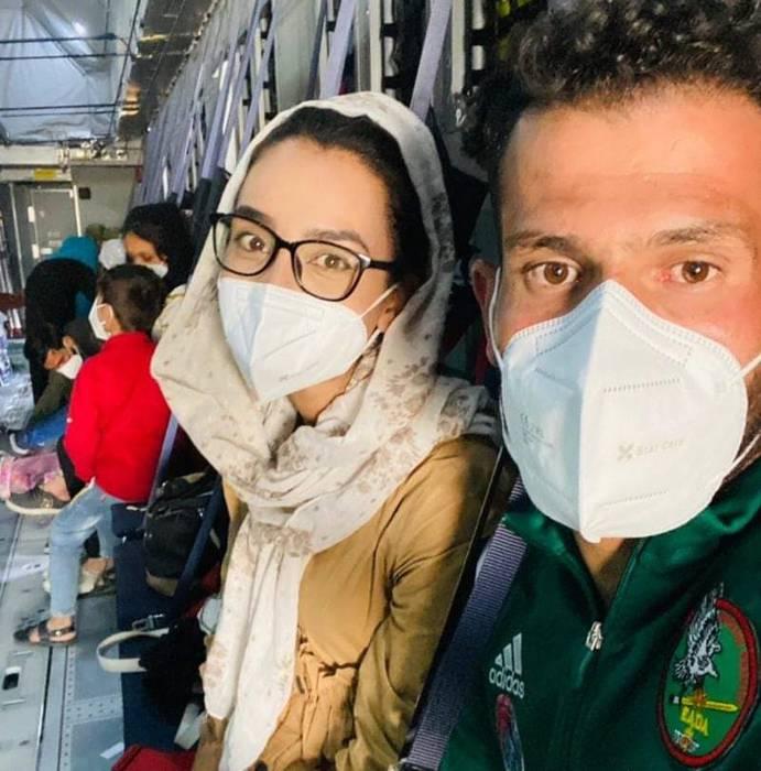 Nilofar Bayat Afganistango kirolari errefuxiatuak debuta egingo du Amurrion larunbatean