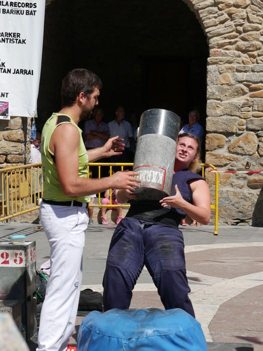 Margolariek eta herri kirolek girotu dute festetako larunbat eguerdia - 18