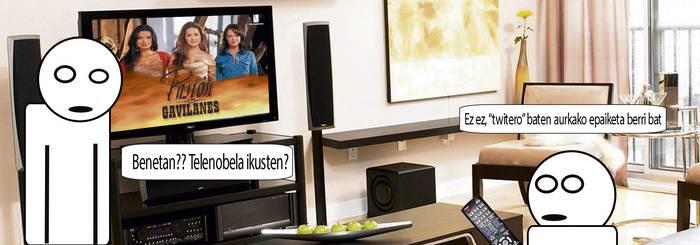 KOMIKIA: Telenobelak ikusten