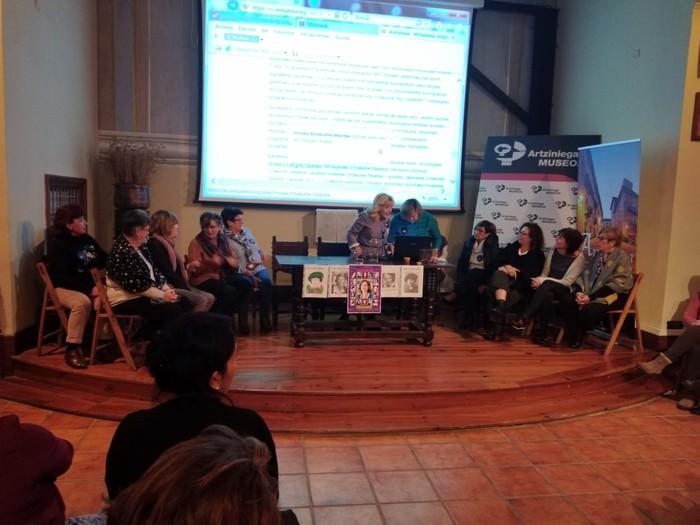 Eskualdeko talde eta elkarte feministei aitortza egin zieten Berdintasun topaketan - 8