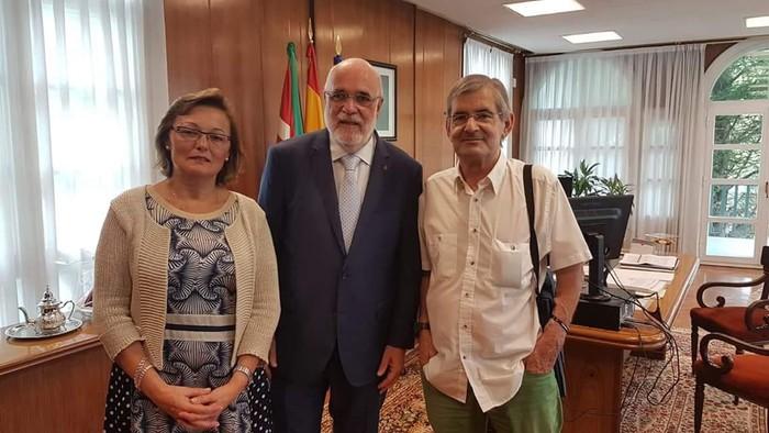 Espainiako Gobernuarekin eta Sustapen Ministerioarekin elkartzeko asmoa dauka Mateo Lafraguak