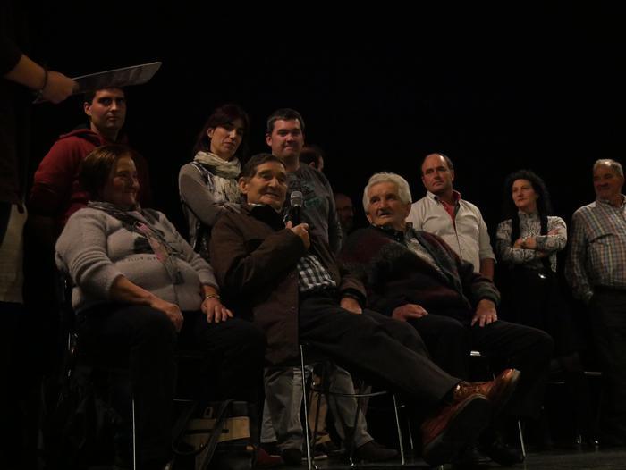 Bilboko BBK Aretoa bete zuen Gorbeiako artzaintzari buruzko dokumentalaren aurkezpenak - 2