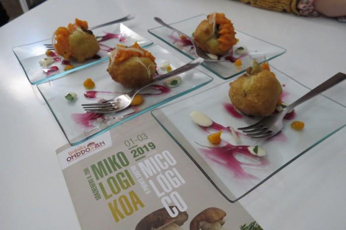 Herri-epaimahaiak ere Politenako pintxoa saritu du 'Urduña Onddotan' lehiaketa gastronomikoan