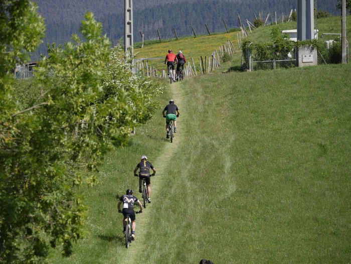 Zuriñe Frutosek eta Iñaki Isasik irabazi dute Aiarako Mendi Duatloia - 61