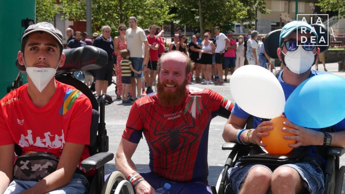 Positiboki baloratu dute Spiderabelen elkartasun maratoia
