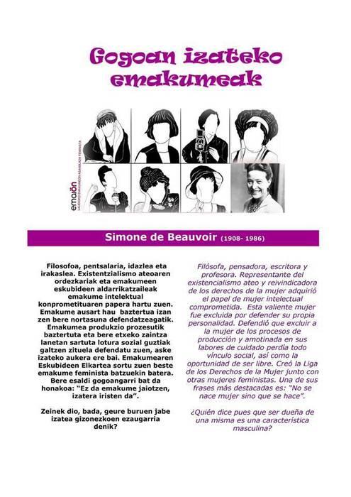 Simone de Beauvoir 4/8